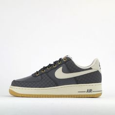 outlet store cabed 83644 Nike Air Force 1 Low Mens Casual Trainers Shoes Sneakers Dark GreyBrown  Nike Trainers