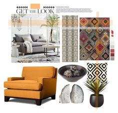 """Untitled #3242"" by kellie-debrandt-mescher ❤ liked on Polyvore featuring interior, interiors, interior design, home, home decor, interior decorating, West Elm, Thrive, Oriental Weavers and Frontgate"