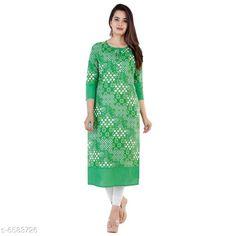 Kurtis & Kurtas Women's Printed Cotton Kurti Fabric: Cotton Sleeve Length: Three-Quarter Sleeves Pattern: Printed Combo of: Single Sizes: S (Bust Size: 18 in Size Length: 36 in)  XL (Bust Size: 21 in Size Length: 42 in)  L (Bust Size: 20 in Size Length: 40 in)  M (Bust Size: 19 in Size Length: 38 in)  XXL (Bust Size: 22 in Size Length: 44 in) Country of Origin: India Sizes Available: S, M, L, XL, XXL   Catalog Rating: ★4 (439)  Catalog Name: Women Cotton A-line Printed Orange Kurti CatalogID_1048977 C74-SC1001 Code: 723-6583726-087