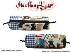 Schlampermäppchen Stiftemäppchen Maulwurf  Bau von MartinaH-Design auf DaWanda.com