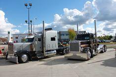 Trucking Peterbilt 379, Peterbilt Trucks, Semi Trucks, Big Trucks, Logging Equipment, Heavy Construction Equipment, Tow Truck, Driving Force, Buses