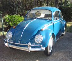 1965 VW - I had one just like this. It was baby blue and in mint condition. Bought it when I turned 16 for $400. I loved that car!!