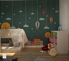 pokój zabaw - Średni pokój dziecka dla dziewczynki dla malucha, styl skandynawski - zdjęcie od WNĘTRZOMANIA