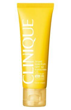 Women's Clinique 'Sun' Broad Spectrum SPF 50 Face Cream