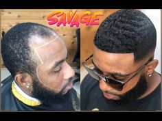😱 A (must see) Crazy Smoov Deep Wave manweave Faded‼️Hit me up Hair Cutter, Hair Tattoos, Short Cuts, Dreads, Black Hair, Short Hair Styles, Winter Hats, Waves, Mens Hair