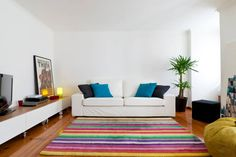 Apartment in Lisbon, Portugal. Welcome to Casa da Saudade apartment in Praça das Flores - one of the most beautiful and well preserved neighborhoods in Lisbon's city center.  The apartment is on a charming, fully rehabilitated and remodeled 18th century building. It has two bed...