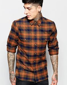 Fjallraven Shirt with Flannel Check