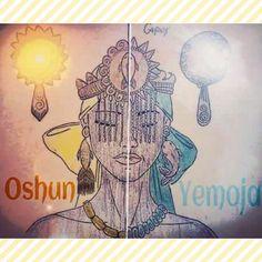 Ora iê iê Oxum  Odoyá Iemanjá  Lindas Yabás, uma filha, uma mãe, Orixás belos, Orixás guerreiros, - axedocandomble