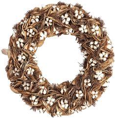 Napa Home & Garden Southern Cotton Wreath