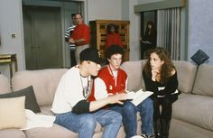 """Would give anything to know what these Baysiders are talking about. 