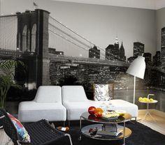 NY Skyline photo wallpaper