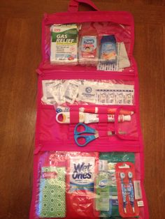 """Mom's Emergency Kit"" w/ the timeless beauty bag from Thirty-One"