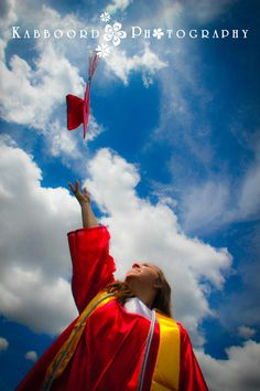 Graduation Cap and Gown, Senior Pictures