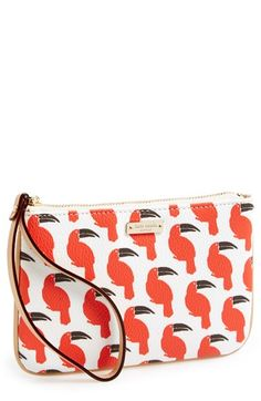 Super fun printed Kate Spade clutch via @Nordstrom