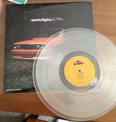 Frank Ocean - Nostalgia ULTRA (CLEAR Vinyl LP) BRAND NEW