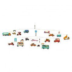 Mobile Verkehr Bunt  Djeco