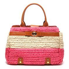 Samantha Thavasa STNY ペーパーパナマベルテッドバッグ(ピンク) -靴とファッションの通販サイト ロコンド