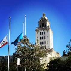 The majestic Beverly Hills City Hall near Rodeo Drive. #CityHall #Beverly Hills #RodeoDrive