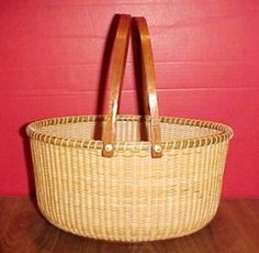 Simply Nantucket Baskets - Large Oval Nantucket Basket