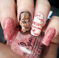 Gahhh i love this pinteres see more ghostbusters nails prinsesfo Choice Image