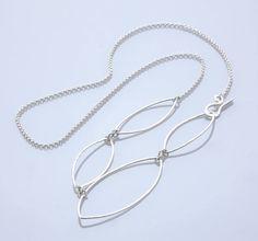 Mirisa/Silver Leaf ネックレス 15750yen 自在にアレンジ!透明感溢れるネックレス
