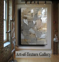 Resin Glass Large Original Abstract Texture Modern Silver Pewter Copper Metal Leaf Sculpture Carved Impasto Knife Oil Painting by Je Hlobik Oil Painting Texture, Free To Use Images, Copper Metal, Sell On Etsy, Abstract Art, Abstract Paintings, Art Pieces, Canvas Art, Creations