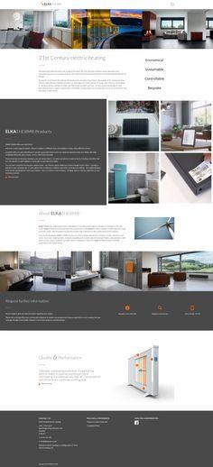 German electric heating Chester, Web Design, German, Electric, Website, Deutsch, Design Web, German Language, Website Designs