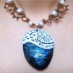Disney Moana's Necklace (€71) ❤ liked on Polyvore featuring jewelry, necklaces, disney necklace, disney jewellery, disney, heart necklace and disney jewelry