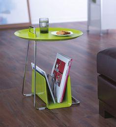 Design Table With Papercontainer Tafel Met Krantenbak