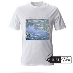 water lilies monet T shirt size XS – 5XL