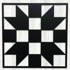 Sisters Choice Metal Quilt Block Sign - Black - 2 Ft