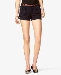 Pleated Shorts w/ Skinny Belt Forever 21, Shop Forever, Pleated Shorts, Skinny Belt, High Fashion, Latest Trends, Casual Shorts, Short Dresses, Stylish