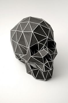 Digital Vanitas // As part of the Refabriek project together with manystudio I created a physical representation of a digital shaped skull  //  Christian Fiebig