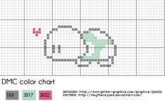Little turtle cross stitch pattern by ~heytherejules on deviantART free