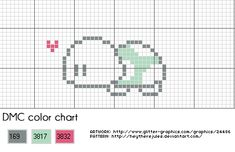 Little turtle cross stitch pattern by ~heytherejules on deviantART free