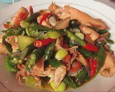 Resep Cumi Asin Cabe Ijo Oseng Cumi Oleh Chindy Lf Resep Resep Masakan Makanan Resep Makanan