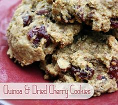 Quinoa and Dried Cherry Cookies: 16 Easy and Nutritious Snacks for Moms-to-Be   DisneyBaby.com (Recipe by Justine at http://ahalfbakedlife.blogspot.com)