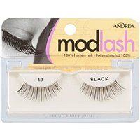 Andrea Modlash Strip Lash - 53 Black Black (Quantity of 5) *** Check out the image by visiting the link.