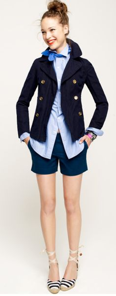 preppy nautical look for spring