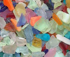 sea glass - Sanibel Seashells beach glass