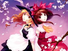 Touhou Project Fan Arts - Anime Sisters