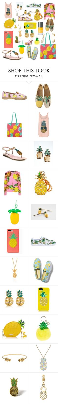 """Stand Tall, Wear a Crown"" by heathersjams ❤ liked on Polyvore featuring Dolce&Gabbana, Tory Burch, Martha Stewart, Banana Republic, Sunnylife, Kate Spade, Lee Renee, Keds, MBLife.com and Rachel Jackson"