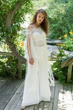 The Blushing Bride Boutique is one of the largest Retailers in Texas for Lillian West Wedding Gowns! You'll find in our Lillian West Collection an assortment of Ultra Boho Styles, Romantic … Wedding Pantsuit, Wedding Dress Chiffon, Wedding Dress Trends, Bridal Dresses, Wedding Gowns, Lillian West, Beautiful Gowns, Bridal Style, Boho Wedding