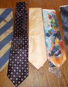 6 krawatów w ty 2 nowe w folii   Cena: 30,00 zł  #krawaty