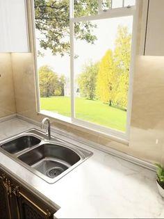 Kitchen Room Design, Home Room Design, Modern Kitchen Design, Home Decor Kitchen, Interior Design Kitchen, Kitchen Furniture, House Design, Kitchen Ideas, Kitchen Organization