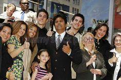 Erik Estrada con su familia