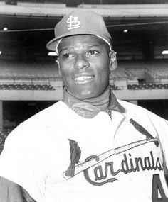 St. Louis Cardinals Pitcher Bob Gibson.