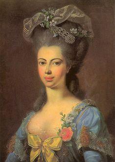 ca. 1780 Juliane von Schaumburg Lippe by ? (location unknown to gogm)   Grand Ladies   gogm