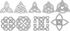 Celtic knots are beautiful, mystic and intriguing. These knots have been engraved into crosses, and designed into pieces of jewelry, art and even tattoos. Although the symbolism of the celtic. Celtic Knot Tattoo, Celtic Tattoos, Celtic Knots, Irish Celtic, Celtic Art, Celtic Symbols And Meanings, Norse Symbols, Modern Meaning, Culture Art