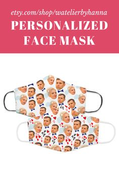 Personalized Wedding Anniversary Bride Groom Gift With Your Picture / Custom Face Mask With Faces #FaceMasks Bride And Groom Gifts, Bride Groom, Wedding Bride, Bad Photos, Cool Photos, Gifts For Him, Gifts For Women, Handmade Shop, Handmade Gifts